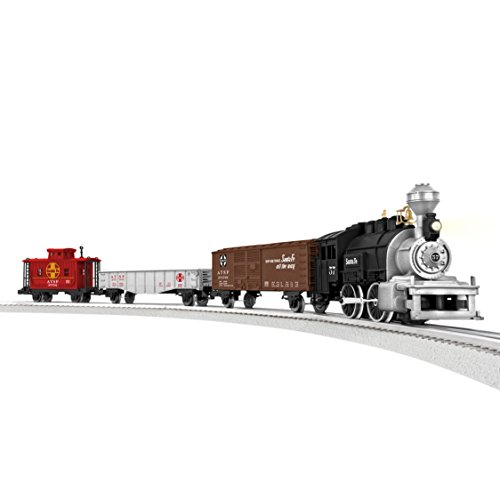 Lionel Junction Santa Fe Steam Train Set - O-Gauge