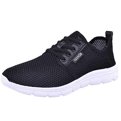Women Outdoor Mesh Gym Shoes Casual Lace Up Comfortable Breathable Soles Running Sports Shoes Sneaker