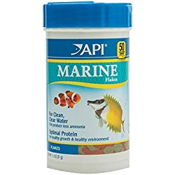 API MARINE FLAKES Fish Food 1.1-Ounce Container