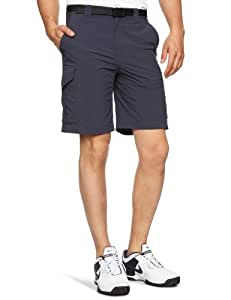 Columbia Men's Silver Ridge Cargo Short, 34x10-Inch, Abyss