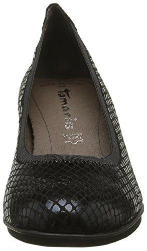 Schwarz 6 006 Closed Black UK Tamaris 22436 Schwarz Toe Struct Heels xRP4wU0pXq