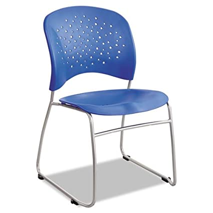 Attrayant Safco Products 6804LA Reve Guest Chair Sled Base With Round Back, (Qty. 2