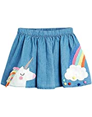 YOHA Baby Girls Clothes Rainbow Pullover Top Sweatshirt Boys Long Sleeve Toddler Shirt