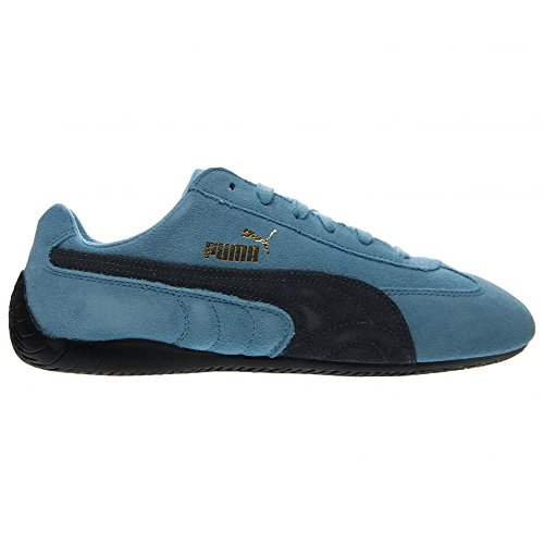 Puma Speed Cat Mens Blue Suede Lace Up Sneakers Shoes hot ...