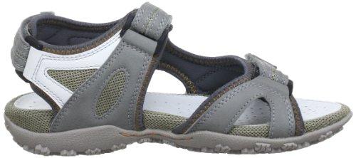 Geox Textil D SANDAL STREL B D3225B05415C1006 - Sandalias para mujer Gris