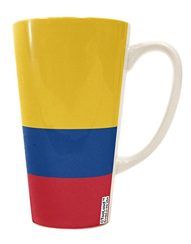 tooloud-colombia-flag-aop-16-ounce-conical-latte-coffee-mug-all-over-print