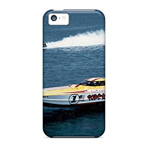 Snap-on Cases Designed For Iphone 5c- Power Boat