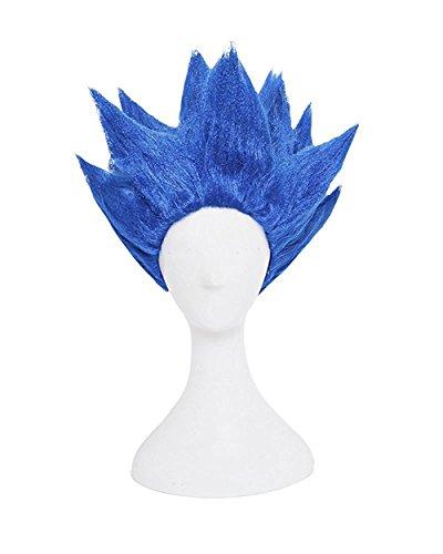 UU-Style Fashion Wigs Halloween Costume Super Saiyan Wig Party Supplies Dragon Ball Goku wig (Bigfoot Costumes For Kids)