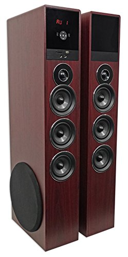 Buy powered tower speakers