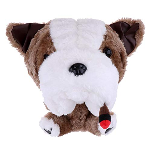 (Baosity Novelty Animal Golf Club Head Cover Headcover Protector for 460 CC/No.1 Wood Driver - 5 Styles Available - Bulldog)
