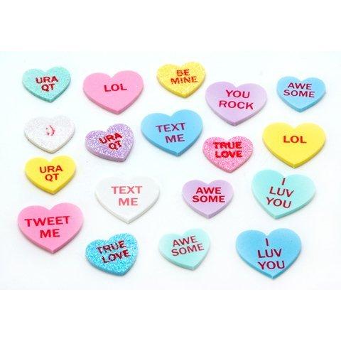 Darice 4 oz Conversation Hearts (1 Pack)