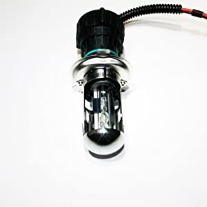 Innovited 55W HID Xenon Bi-xenon Hi/Lo Dual Beam Replacement Bulbs - H4 9003 - 6000K