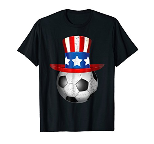 4th July Soccer American Flag Patriotic For Men, Women (Usa Women's Soccer Halloween Costumes)