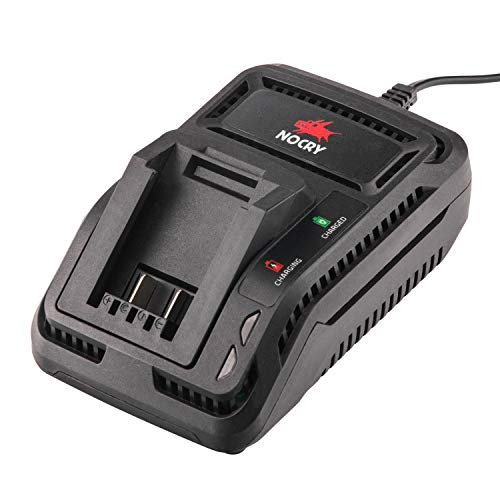 NoCry 20V Battery Fast Charger - Charger ONLY For Charging NoCry 20 Volt Lithium Ion Batteries; 2 Ah Per Hour Output Rate