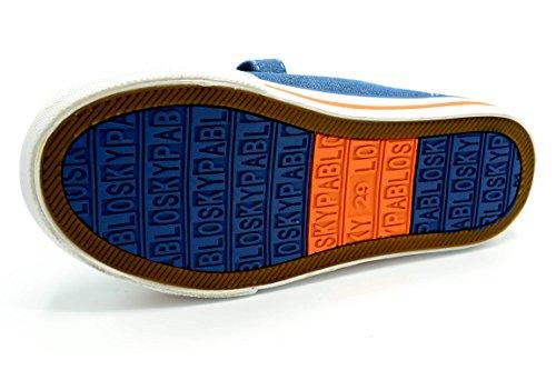 Pablosky 917410 - Zapatilla de lona con puntera de goma
