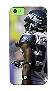 New Runandjump Super Strong Seale Seahawks Nfl Football Sport Tpu Case Cover Series For Iphone 5c