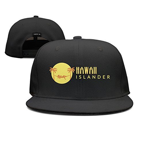 ddasqas Hawaii Island Unisex Plain Caps Baseball Caps