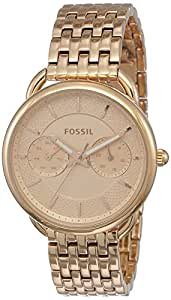 Fossil Women's ES3713 Tailor Analog Quartz Rose Gold Watch