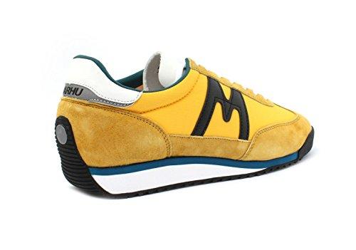 Nylon e Air Karhu Jaune In Sneaker Champion Gialla Suede wqTxnSg6x