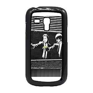 Case Fun Case Fun Graffiti Pulp Fiction Banana Snap-on Hard Back Case Cover for Samsung GalaxyS3 Mini (I8190)