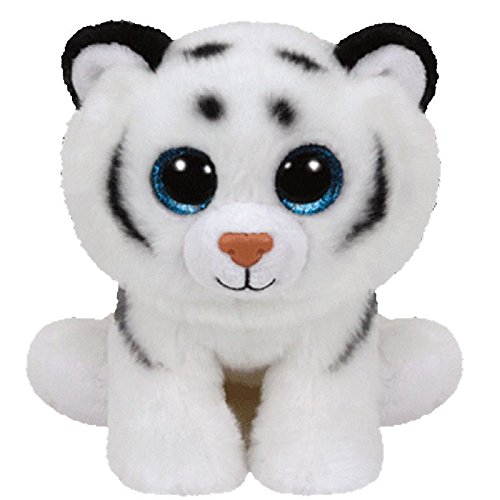 TY Beanie Baby - TUNDRA the White Tiger (2015 version) (6 inch) - MWMTs