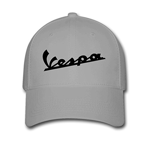 womans-or-mens-vespa-scooters-funny-logo-comfortable-fan-adjustable-hats-baseball-hats-gray