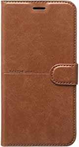Kaiyue Flip Leather Full Cover for Samsung Galaxy S10 - Brown