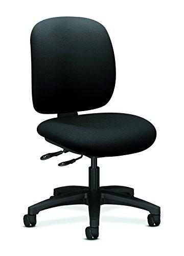 HON HON5903CU10T ComforTask Chair, Black CU10