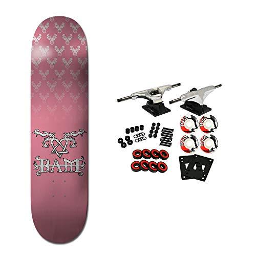(Element Skateboards Compete Bam Heartagram Pink 8.2