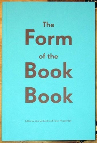 Download The Form Of The Book Book pdf epub