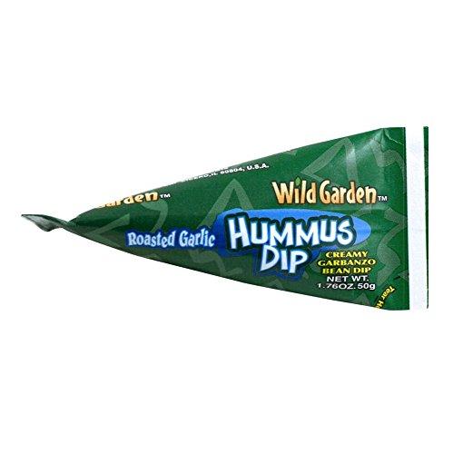Wild Garden Hummus to Go Roasted Garlic, 1.76 OZ (Pack of 10)