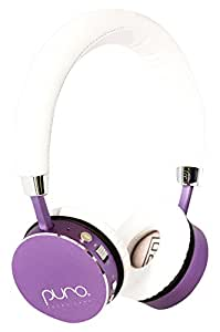 Prime Deals, Puro Sound Labs BT2200 Over-Ear Headphones Lightweight Portable Kids Earphones with Safe Wireless, Volume Limiting, Bluetooth, Noise Isolation for iPhone/Android/PC/Tablet - BT2200 Purple