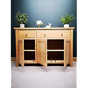 Kelso Modern Oak Large Sideboard Cupboard