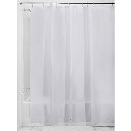 Interdesign Peva 3 Gauge Shower Curtain Liner   Mold Mildew Resistant  Pvc Free   Lavender  72  X 72