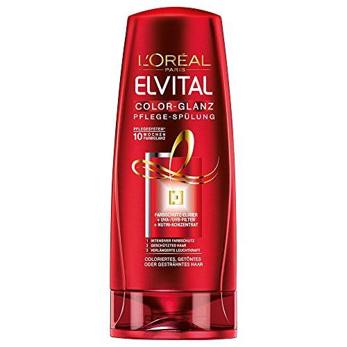 L'Oréal Paris Elvital Color Glanz Spülung, 3er Pack (3 x 200 ml)