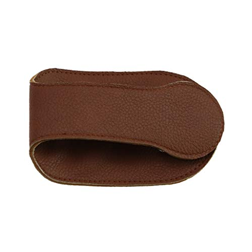 Paradise8 Coin Storage Leather Fold Brown Bag Holder Zipper Coin Clutch Purse Purse Wallet ()
