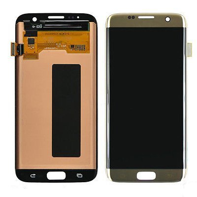 LCD display Digitizer Touch Screen Assembly For Samsung Galaxy S7 Edge G935A G935V G935P G935T G935F (Gold) by TheCoolCube