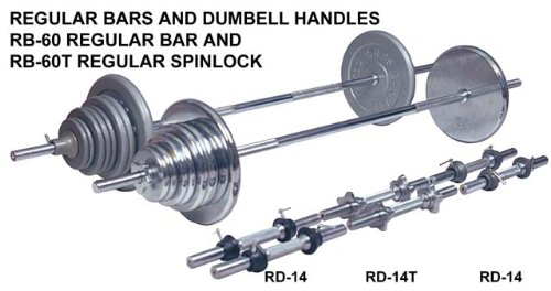 Ader Regular 100 Lb Barbell Set Grey Plates