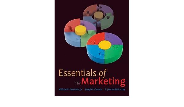 Essentials of Marketing: Amazon.es: Jr., William D. Perreault, Joseph P. Cannon, E. Jerome Mccarthy: Libros en idiomas extranjeros
