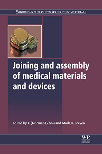 Download Joining and Assembly of Medical Materials and Devices (Woodhead Publishing Series in Biomaterials) Pdf