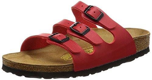 Birkenstock Florida Regular Fit - Cherry 0054741 (Red) Womens Sandals 42 EU by Birkenstock