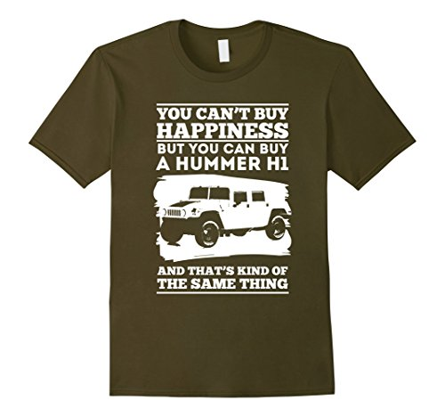 mens-h1-hummer-you-cant-buy-happiness-shirt-xl-olive