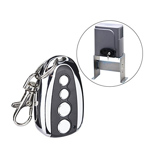 CO-Z Automatic Sliding Gate Opener Hardware Sliding Driveway Security Kit (Backup Remote) (Remote Control Gate Opener)