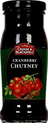 Crosse & Blackwell Chutney, Cranberr, 8.50-Ounce (Pack of 6)