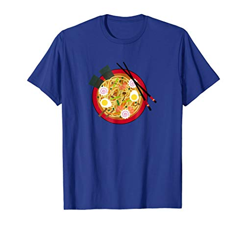 Ramen Noodle Asian Cuisine Soup Bowl Junk Food T-Shirt