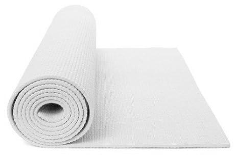 78cbabced38 Amazon.com   MatsMatsMats.com Supreme White Yoga Mat   Sports   Outdoors