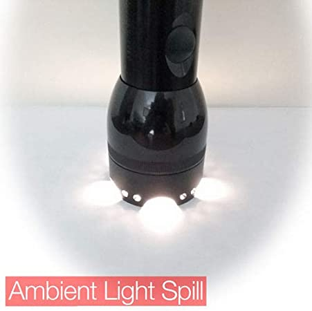 Crenellated Strike Bezel Talon Face Cap for Maglite D//C Cell Torch//flashlight