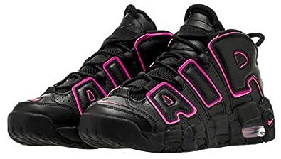 ナイキ nike air more uptempo black/pink blast エア モア アップテンポ スニーカー 黒 x ピンク
