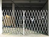 Industrial Grade 2XZG9 Steel Folding Gate, Opening 14-16Ft