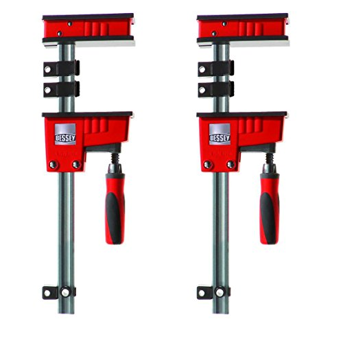Bessey KR3.550 50-Inch K Body REVO Fixed Jaw Parallel Clamp, 2-Pack (Bessey Clamp Replacement Parts)